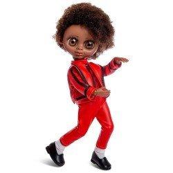 Berjuan Puppe 35 cm - Luxuspuppen - The Biggers mit Gelenk - Michael