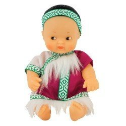 Barriguitas Classic Puppe 15 cm - Barriguitas of the World - Mongolei