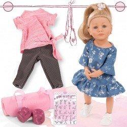 Götz Puppe 36 cm - Little Kidz Lotta Yoga