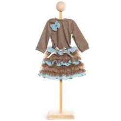 KidznCats Puppe Outfit 46 cm - Arielle Kleid