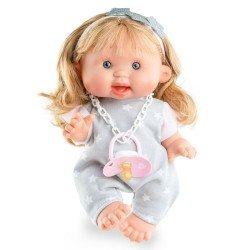 Marina & Pau Puppe 26 cm - Nenotes Party Edition - Grau