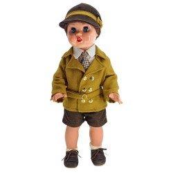Juanín Pérez Puppe 50 cm - Ockerfarbenes Outfit