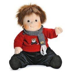 Rubens Barn Puppe 50 cm - Rubens Barn Original - Emil mit Teddy