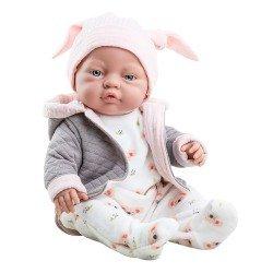 Paola Reina Puppe 45 cm - Bebita mit Koala-Pyjama