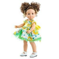 Paola Reina Puppe 45 cm - Soy tú - Emily mit Blumenkleid