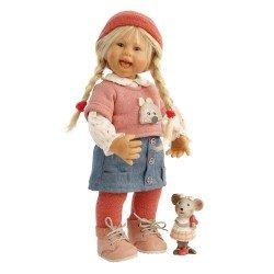 Schildkröt Puppe 30 cm - Müller-Wichtel von Rosemarie Müller - Lea