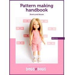 Puppen und Puppen herunterladbare Anleitung für Las Amigas Puppen - Shorts mit Bluse
