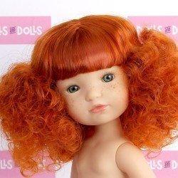 Bambola Berjuan 35 cm - Boutique bambole - Capelli rossi Fashion Girl senza vestiti
