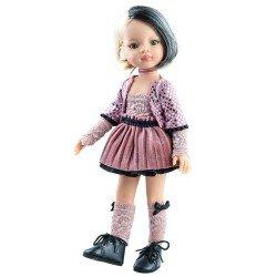 Bambola Paola Reina 32 cm - Las Amigas Funky - Liu con vestito rosa