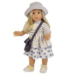 Bambola Schildkröt 52 cm - Elli bionda di Elisabeth Lindner