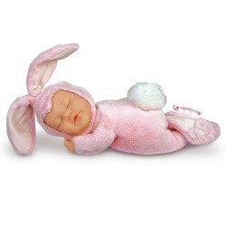 Bambola Anne Geddes 23 cm - Coniglio rosa