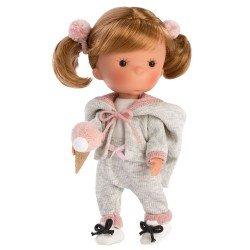 Bambola Llorens 26 cm - Miss Minis - Miss Pisi Pink