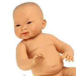 Bambola Llorens 45 cm - Nene Tao asiatica senza vestiti