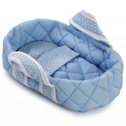 Complementi Así bambola 20 cm - Piccola navicella blu con stelle bianche