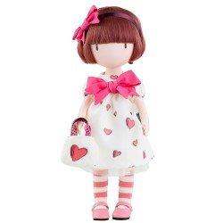 Bambola Paola Reina 32 cm - Bambola Gorjuss di Santoro - Cuoricino