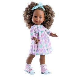 Bambola Paola Reina 45 cm - Soy tú - Abito Amor con cuore