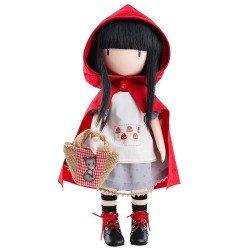 Bambola Paola Reina 32 cm - Bambola Gorjuss di Santoro - Cappuccetto Rosso