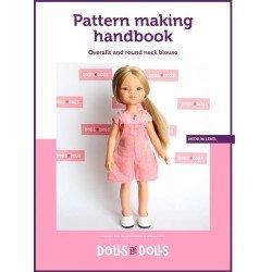 Schema scaricabile Bambole E Bambole per bambole Las Amigas - Tuta con camicetta girocollo