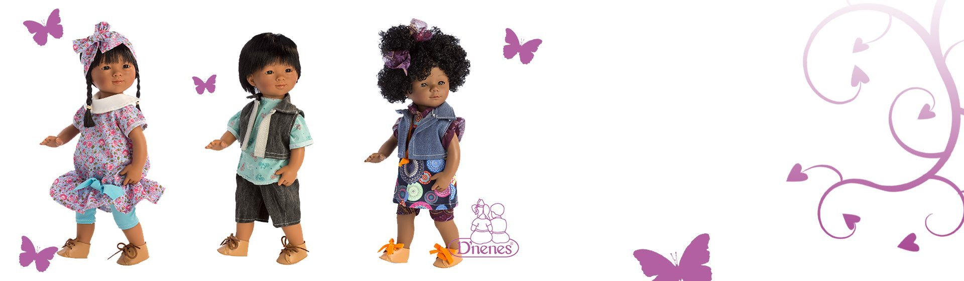 New dolls from D'Nenes!