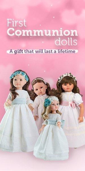 Banner First Communion dolls